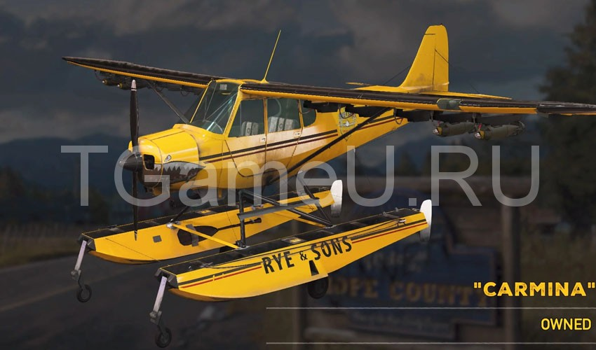 Самолеты в Far Cry5
